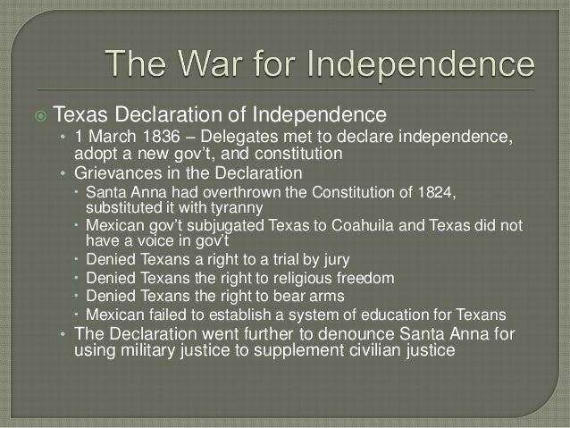 ch 3 the texas revolution