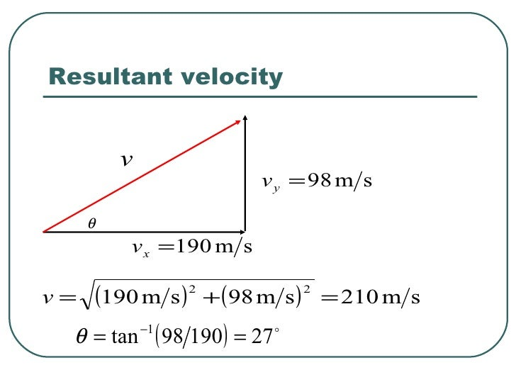 how to work out final velocity