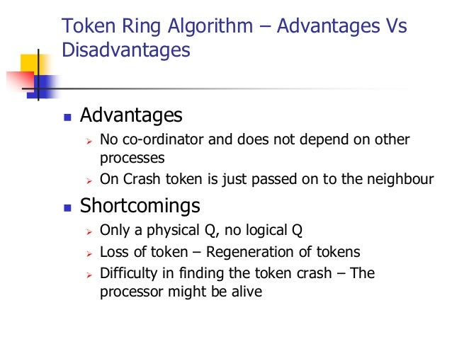 Distributed Mutual Exclusion Ring Based Algorithm