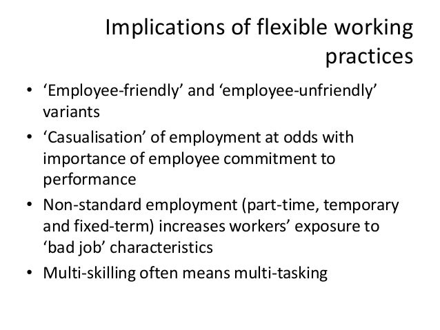 flexible firm john atkinson 1984 subcontracting The flexible firm: strategy or  research and practice in human resource  the increase of temporary employment and employment subcontracting in large firms has.