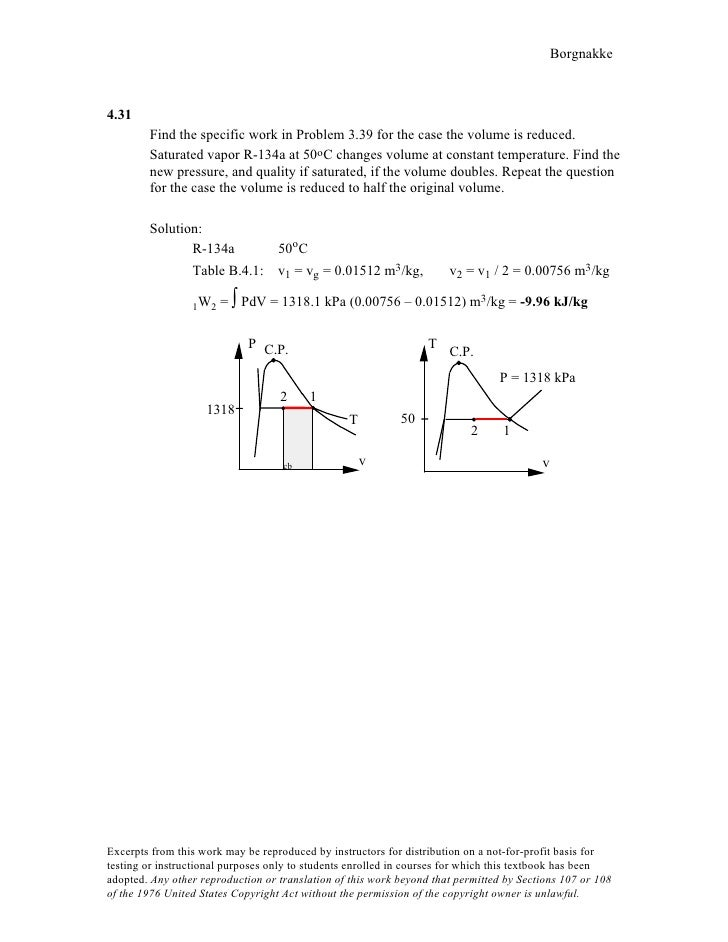 Ch4 answer to the homework problem 34 borgnakke431 find ccuart Image collections