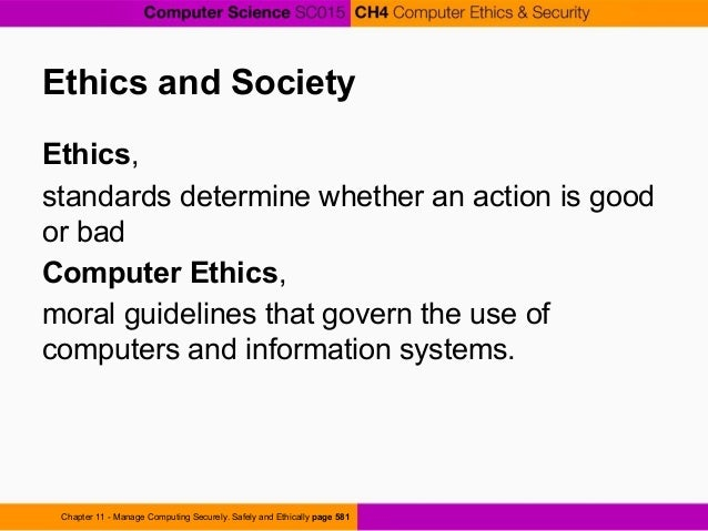 information technology ethics chapter 4 Ethics in information technology, fourth edition - ethics in information technology, fourth edition chapter 9 social networking ethics in information technology, fourth edition ethics in information technology, fourth    powerpoint ppt presentation   free to view.