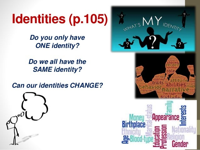 how does our identity change