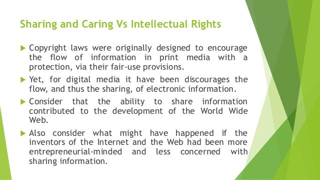 Fair Use Provisions Of Intellectual Property Laws
