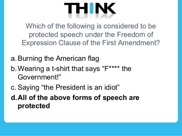 an analysis of the free speech protected by the first ammendment Facebook first amendment facebook like free speech first amendment daniel expert analysis and facebook 'like' protected by first amendment.
