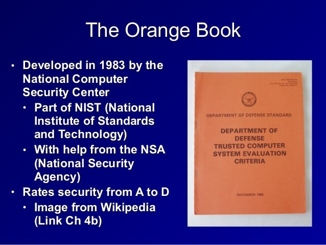 nsa trusted networks red book pdf