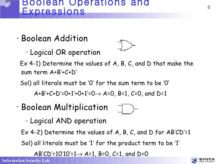 Boolean Rules for Simplification