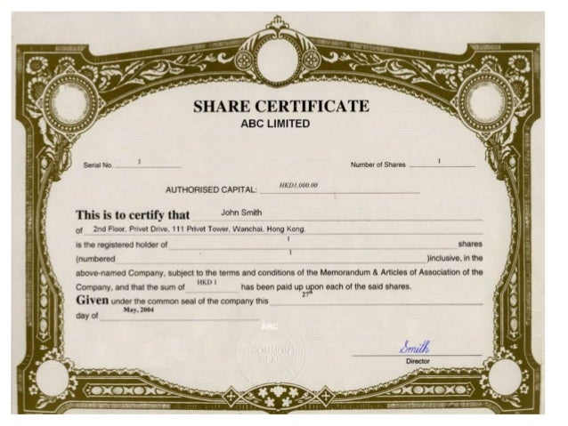Share certificate template hong kong image collections society share certificate format best design sertificate 2017 mscs credit co operative society ltd yadclub image yelopaper Images