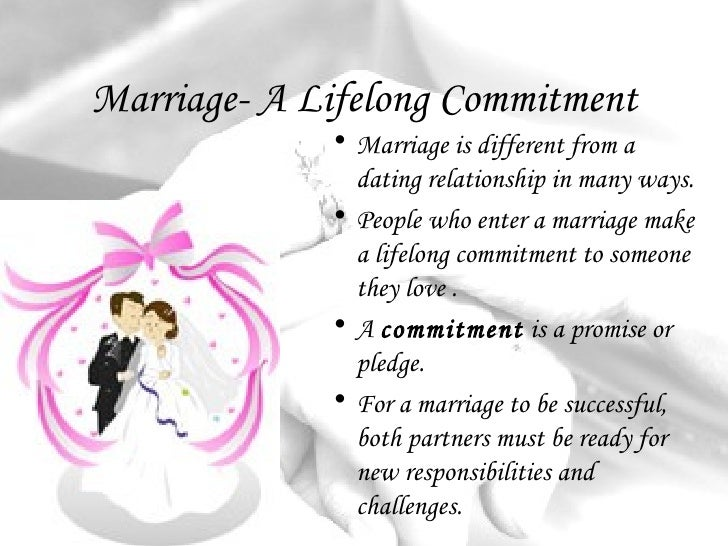 Marriage Commitment