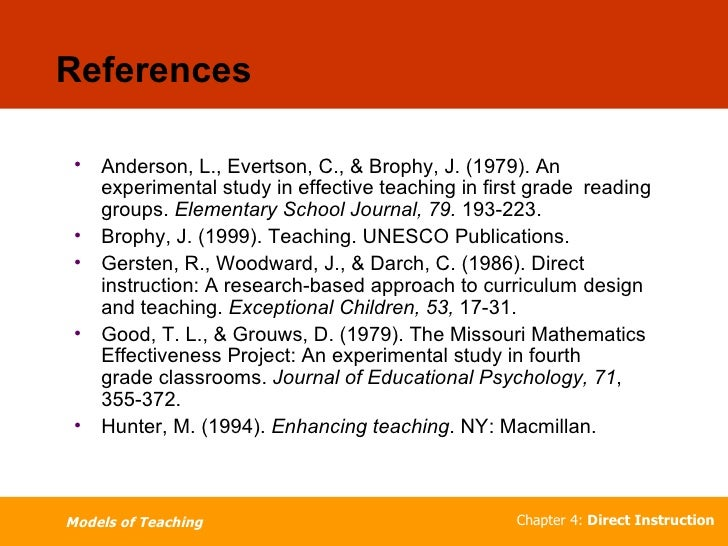 designing effective mathematics instruction a direct instruction approach
