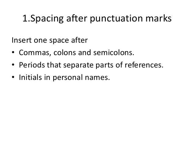 Sentence spacing - Wikiwand
