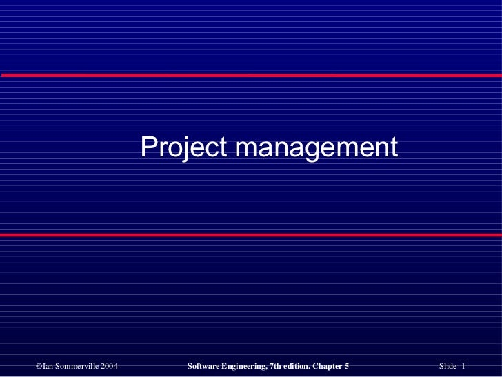<ul><li>Project management </li></ul>