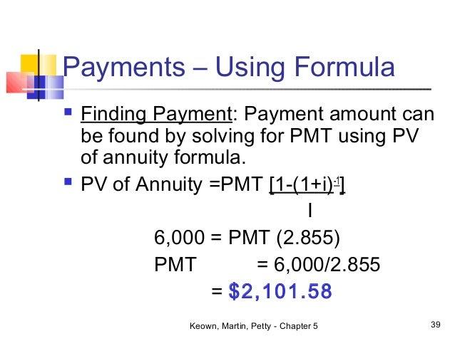 Finance NSU EMB 510 Chapter 5