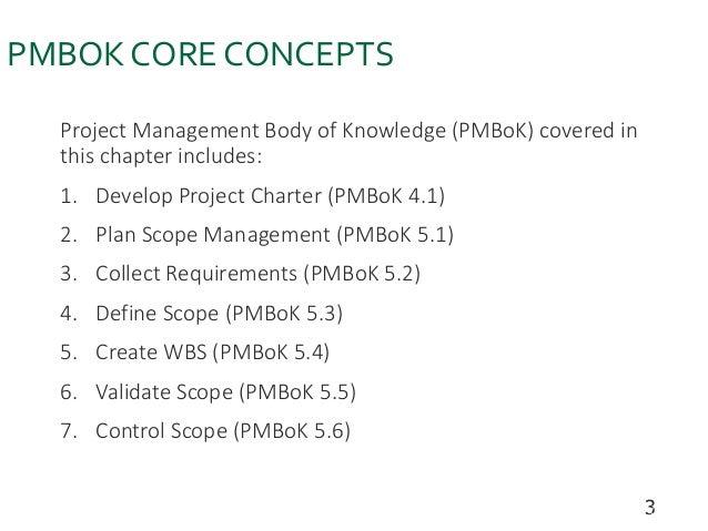 project Development Management (Scope Management ) Slide 3