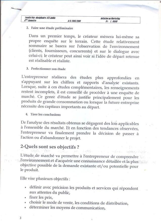 Ch5 l'étude de marche (aide a la décision) Slide 3