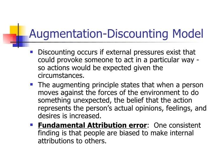 augmentation principle