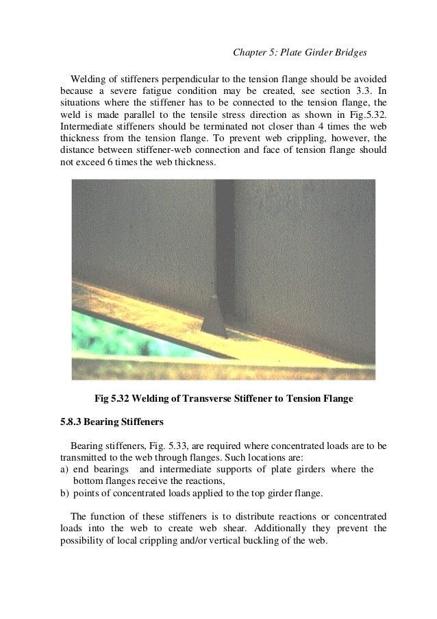 Ch5 Plate Girder Bridges (Steel Bridges تصميم الكباري