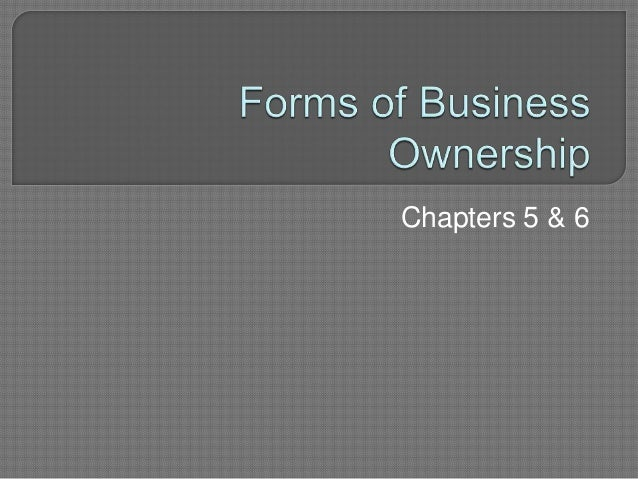 Chapters 5 & 6