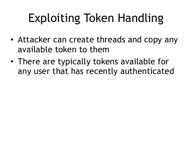 Structured Exception Handler (SEH) • When an illegal operation occurs, such as – Divide by zero – Attempt to execute non-e...
