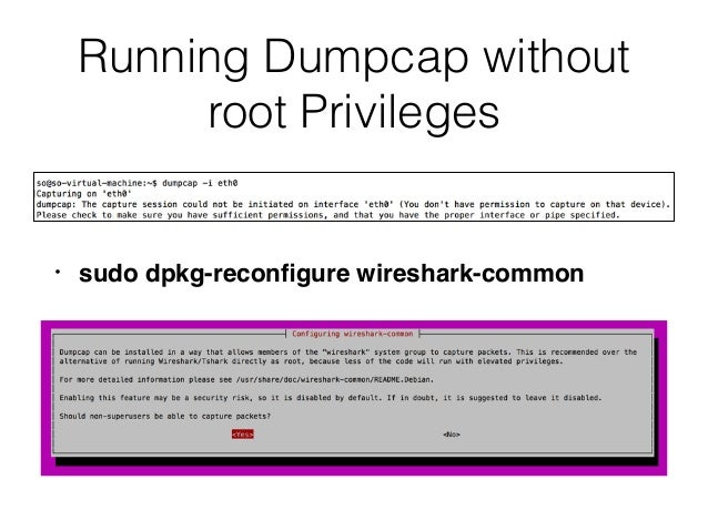 CNIT 50: 6  Command Line Packet Analysis Tools