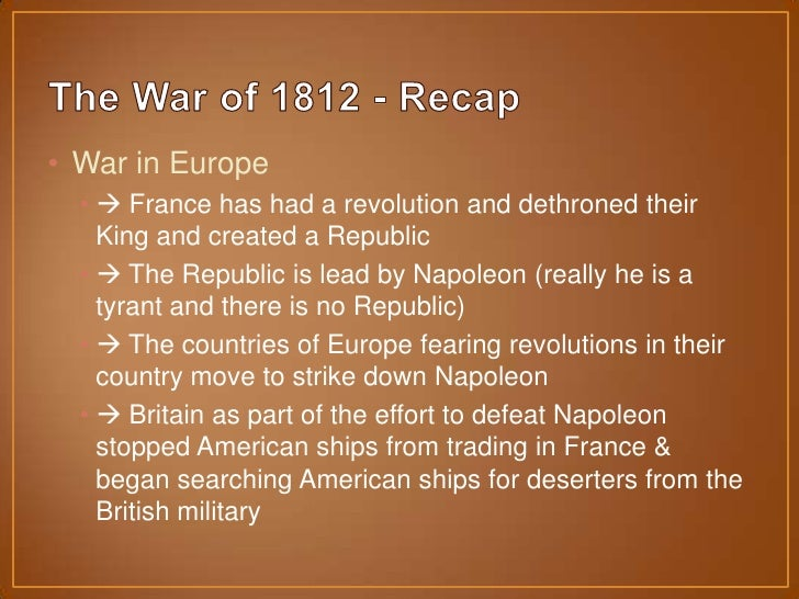 the situation in canada at the onset of the war of 1812 The american revolutionary war and the war of 1812 - read book online for free the american revolutionary war and the war of 1812 is just one title in this 5 book.