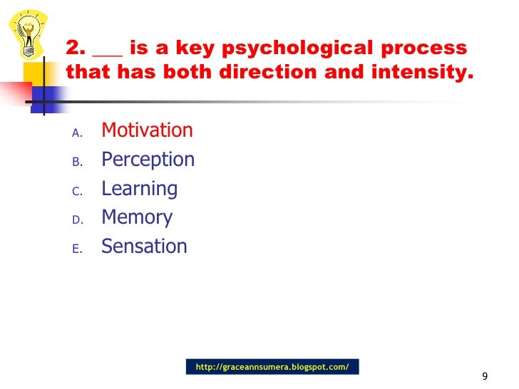 psychological processes motivation perception learning and Design thinking, here defined as a team-based innovation method, helps to deal with complex design problems by sustaining in-depth learning processes on problem.