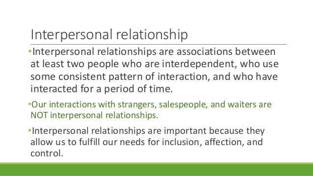 interpersonal relationships section iii Of interpersonal relationships are examined and students are challenged to emulate christ's example as  identify patterns of interpersonal interaction in their families of origin and make best efforts to  complete portfolio section iii  4 complete portfolio section iv.