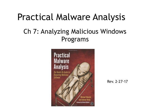 Practical Malware Analysis Ch 7: Analyzing Malicious Windows Programs Rev. 2-27-17