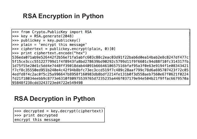 CNIT 141: 7  The RSA Cryptosystem