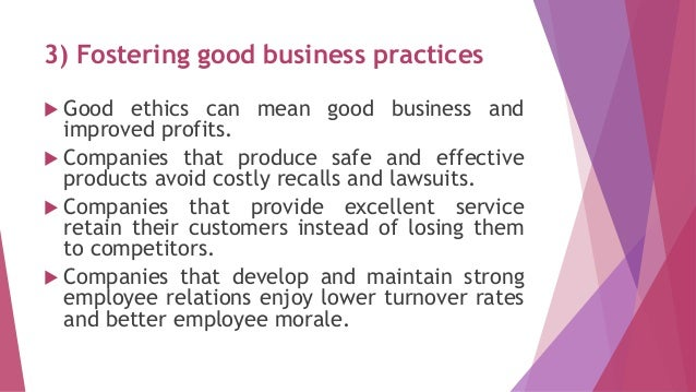 ethical issues in relations between business Ethics and trust in society and business one that does not lose sight of the common good, the following issues should be addressed: many communities in the following, i will highlight just some of the complex relations between ethics, trust and altruism in some spot-like arguments.