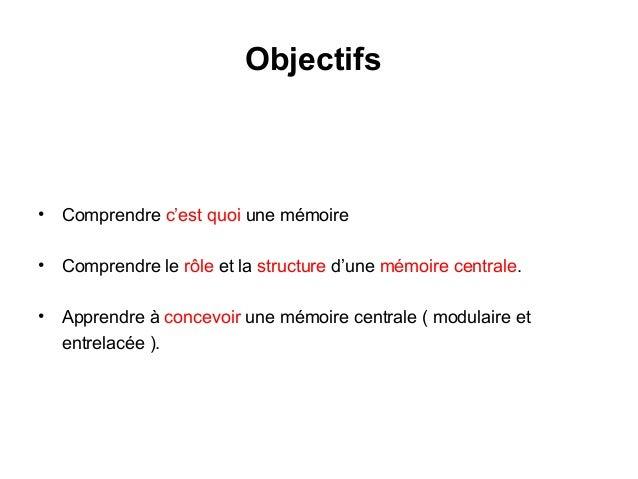 Ch7 memoires for Architecture modulaire definition