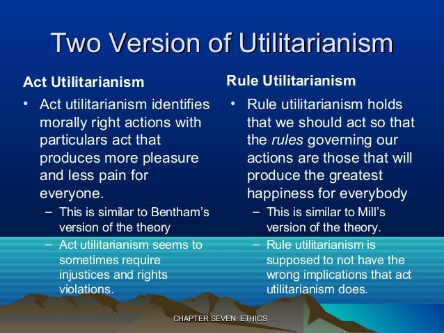 objections to utilitarianism 2 essay Find essay examples essay objections to utilitarianism objection one: let us find you another essay on topic what is utilitarianism what are two objections.