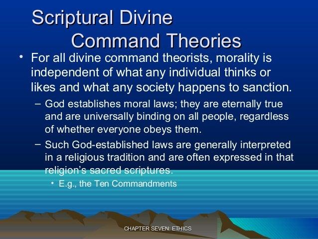 Morality depends on gods command essay