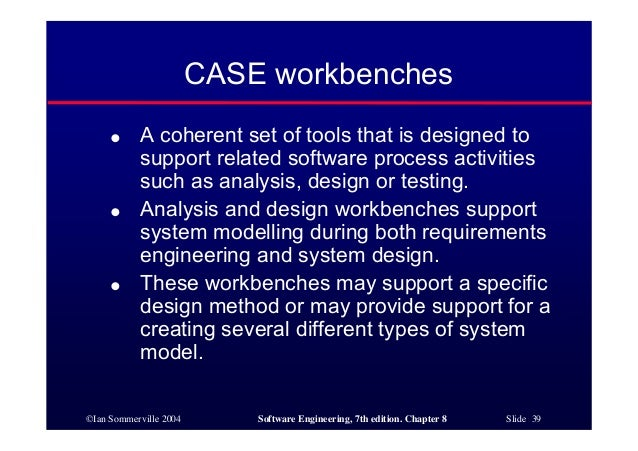 Software Engineering Ch8