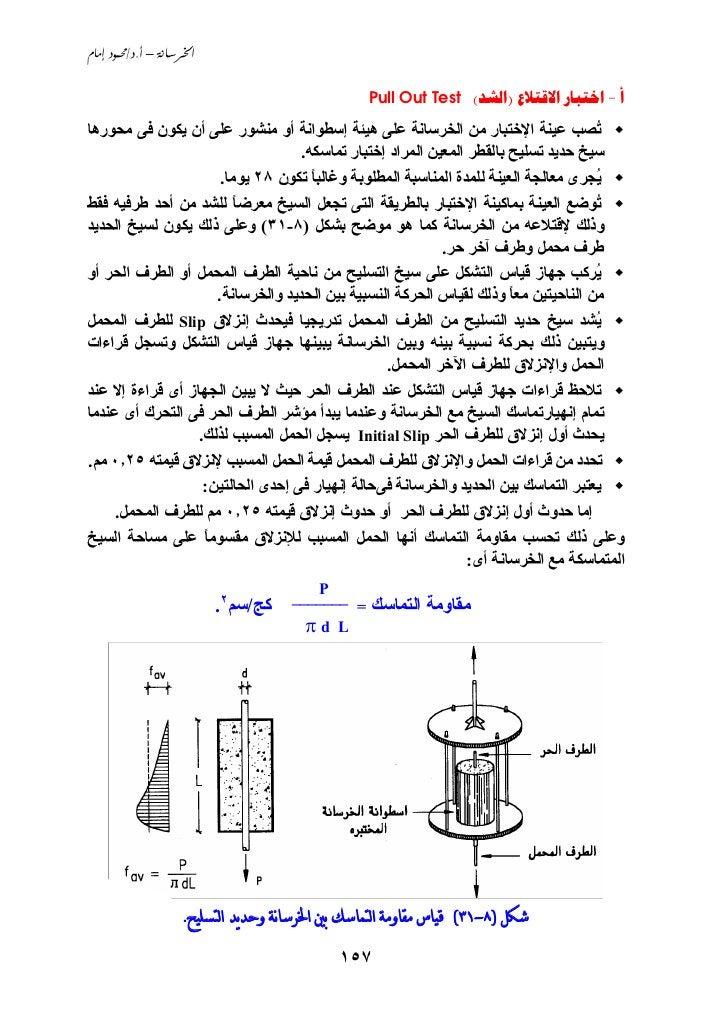 Ch8 خواص واختبارات الخرسانة المتصلدة