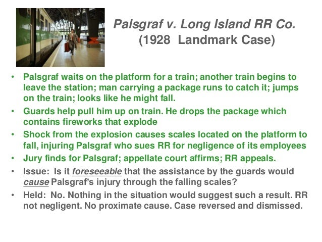 Palsgraf V Long Island Rr Co