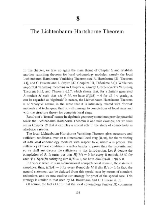 [Ch8 lc] the lh thrm