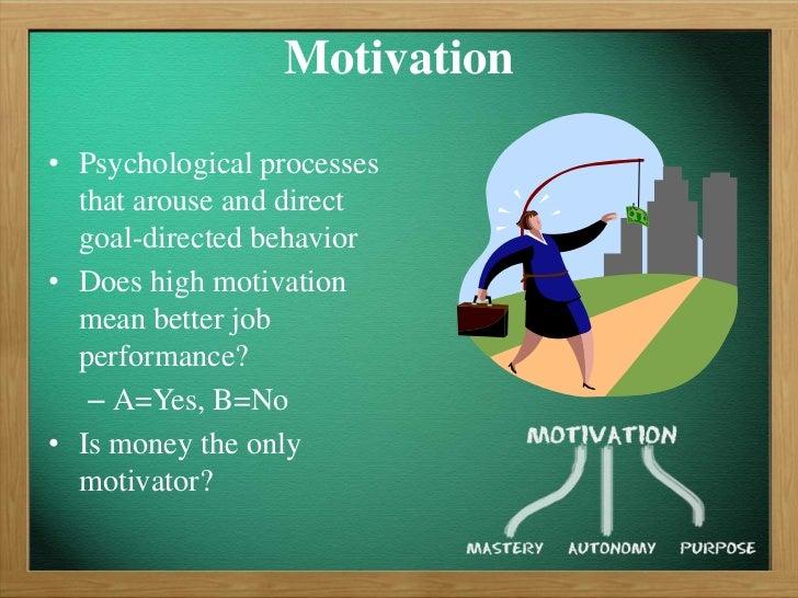 ob motivation Motivation and organizational behaviour  topic motivation and organizational performance prepared by nnorom goodluck kelechi.