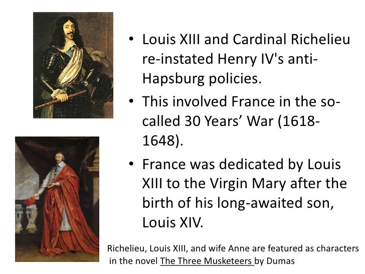 Cardinal Armand Richelieu - Notes | Facebook