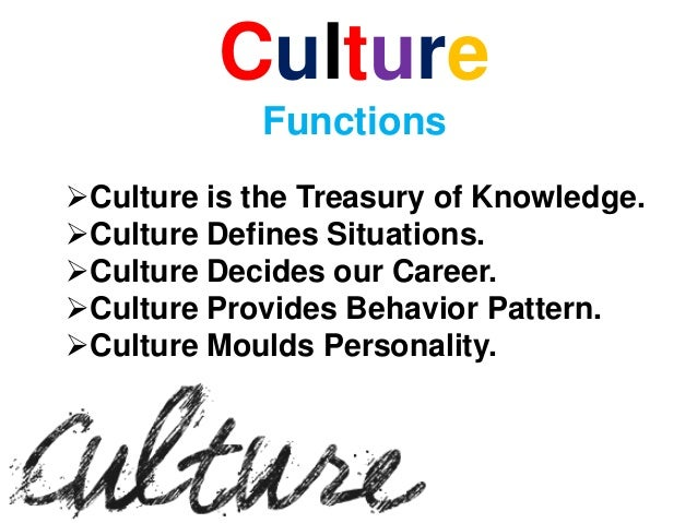 Sociology Chapter 8 culture