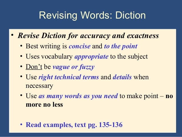 academic writing style vocabulary words