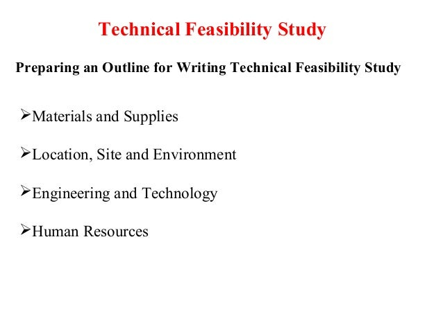 Explaining the Different Types of Feasibility Studies