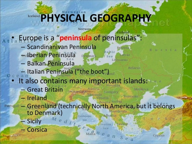 Europe's History & Geography