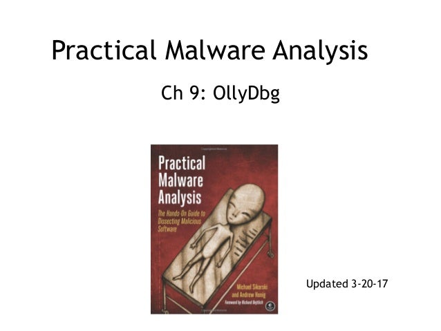 Practical Malware Analysis Ch 9: OllyDbg Updated 3-20-17