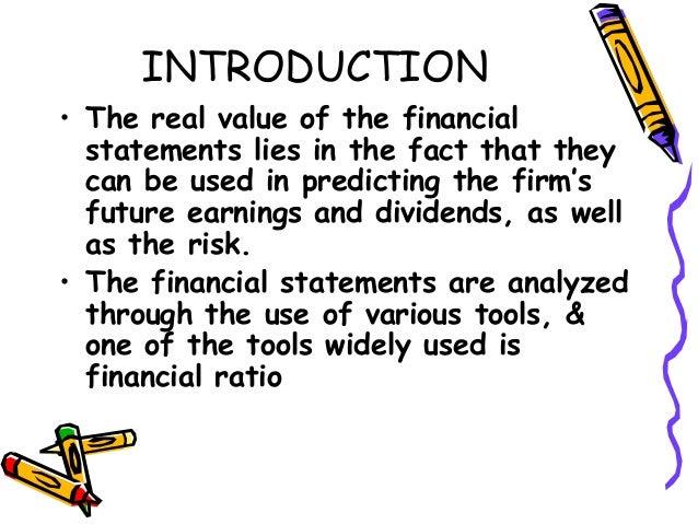 Ch 9 financial statement analysis