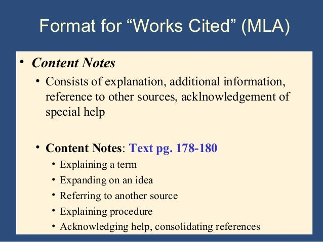 notes and work cited concerning the If it says notes only or in-text citations and notes, that output style will work for  you if it says  for more information on the citation editor, click here you can.