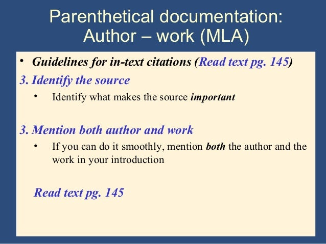 Mla research paper citing websites