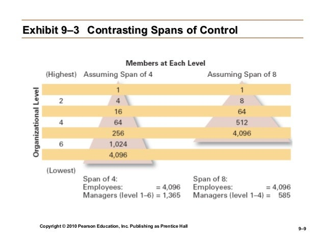 what is span of control pdf