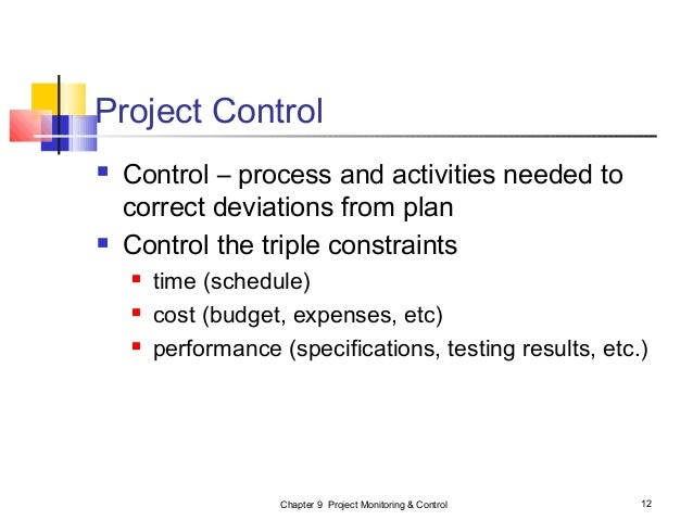 project following control