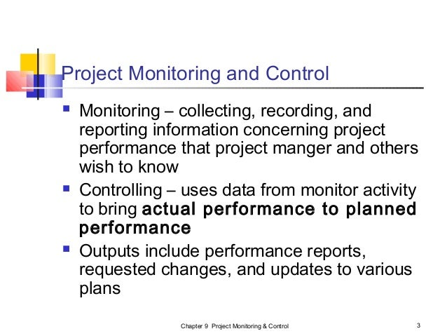 project inspecting control